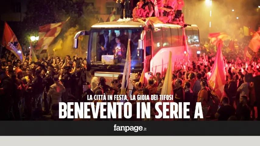 Benevento Carpi I Campani In Serie A La Città In Delirio