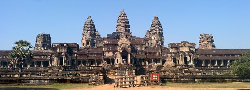 Angkor Wat in daylight