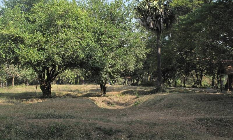 Burial pits at the Killing Fields