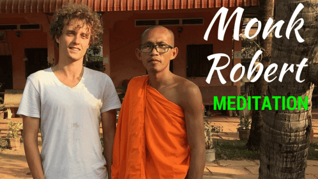 Monk Robert meditation