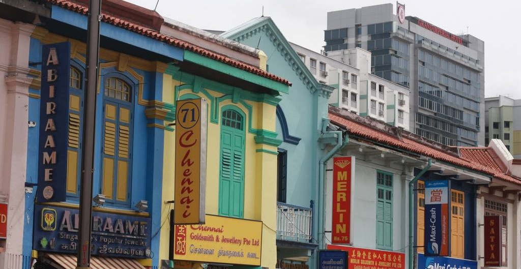 Little India shops in Singapore