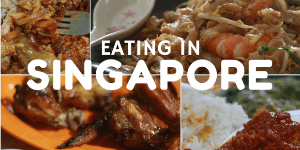 Eating in Singapore