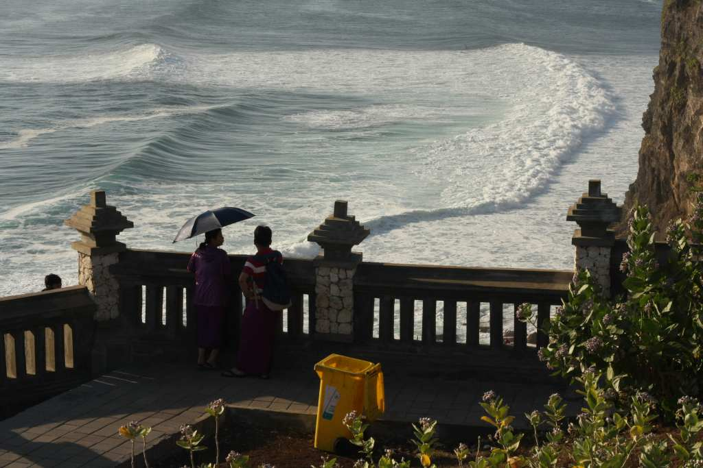 View of Uluwatu from the cliff