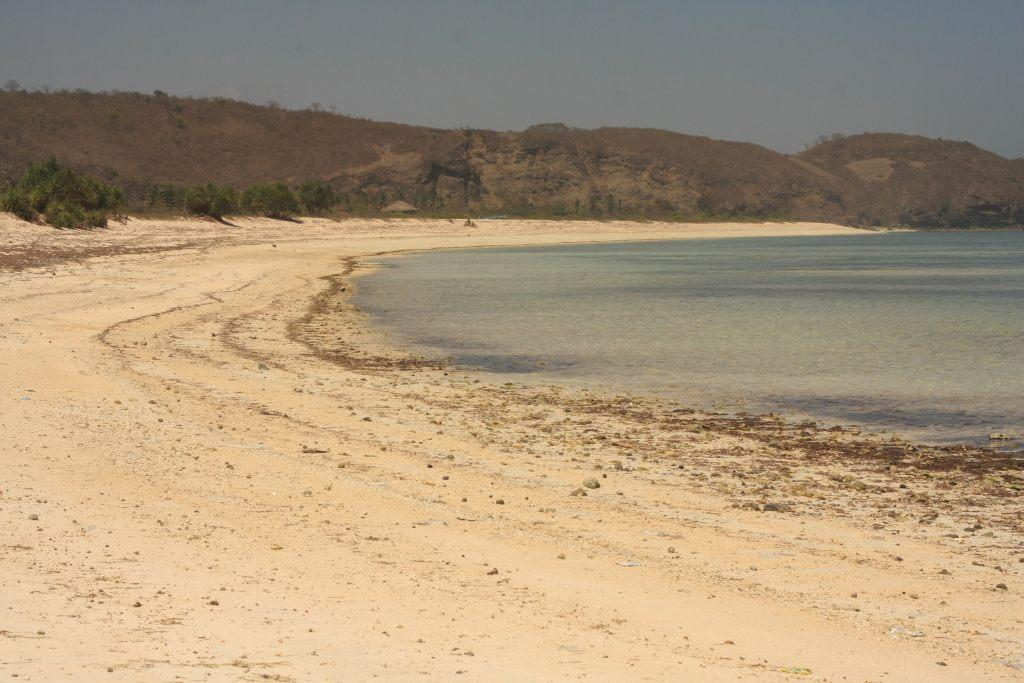 Beach at Kuta Lombok