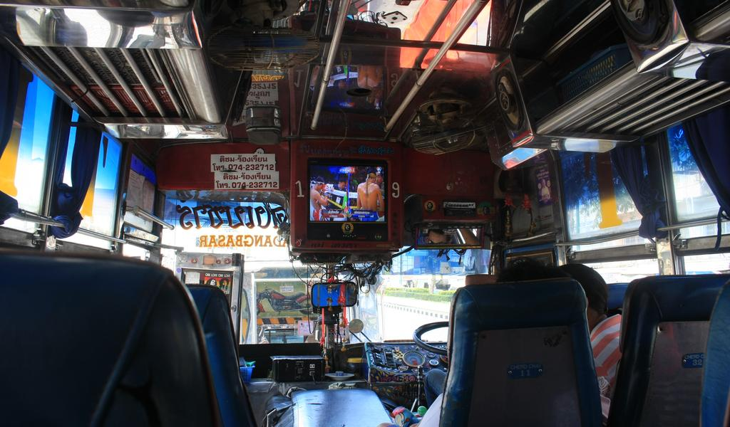 Bus from Hat Yai to Padang Besar