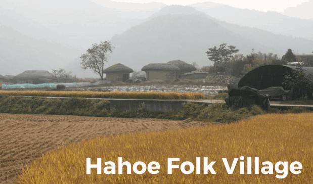 Hahoe Folk Village