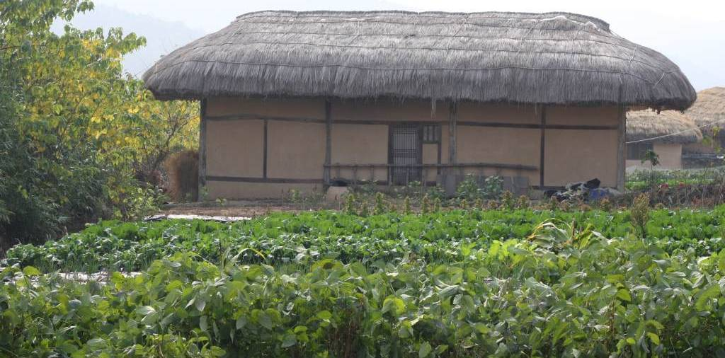 House in Hahoe Folk Village