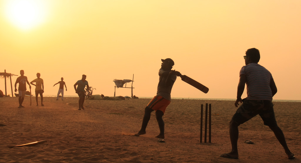 Cricket at Negombo