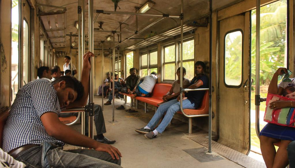 Sri Lankan train carriage
