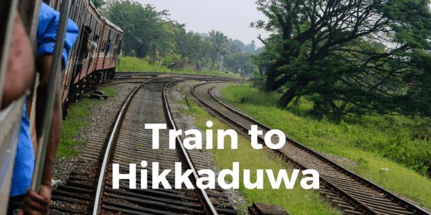 Train to Hikkaduwa