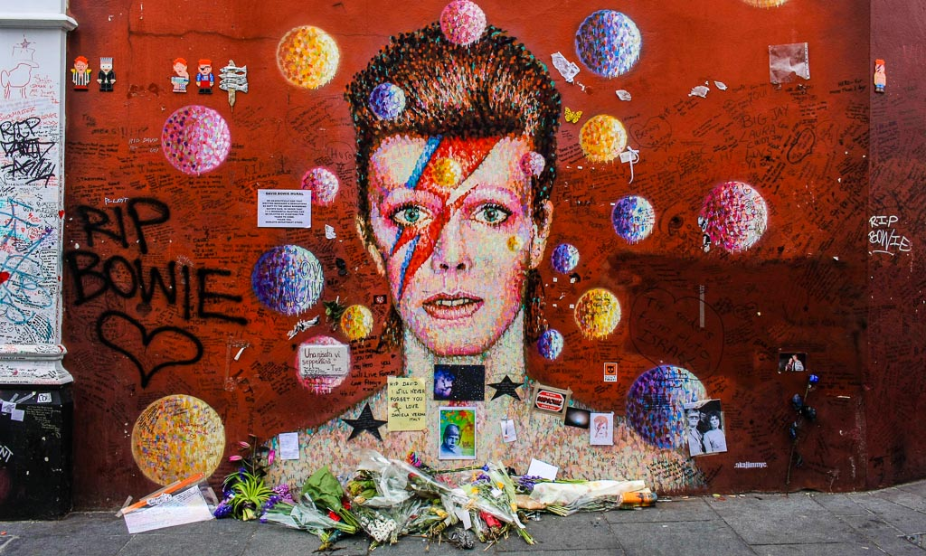 David Bowie shrine