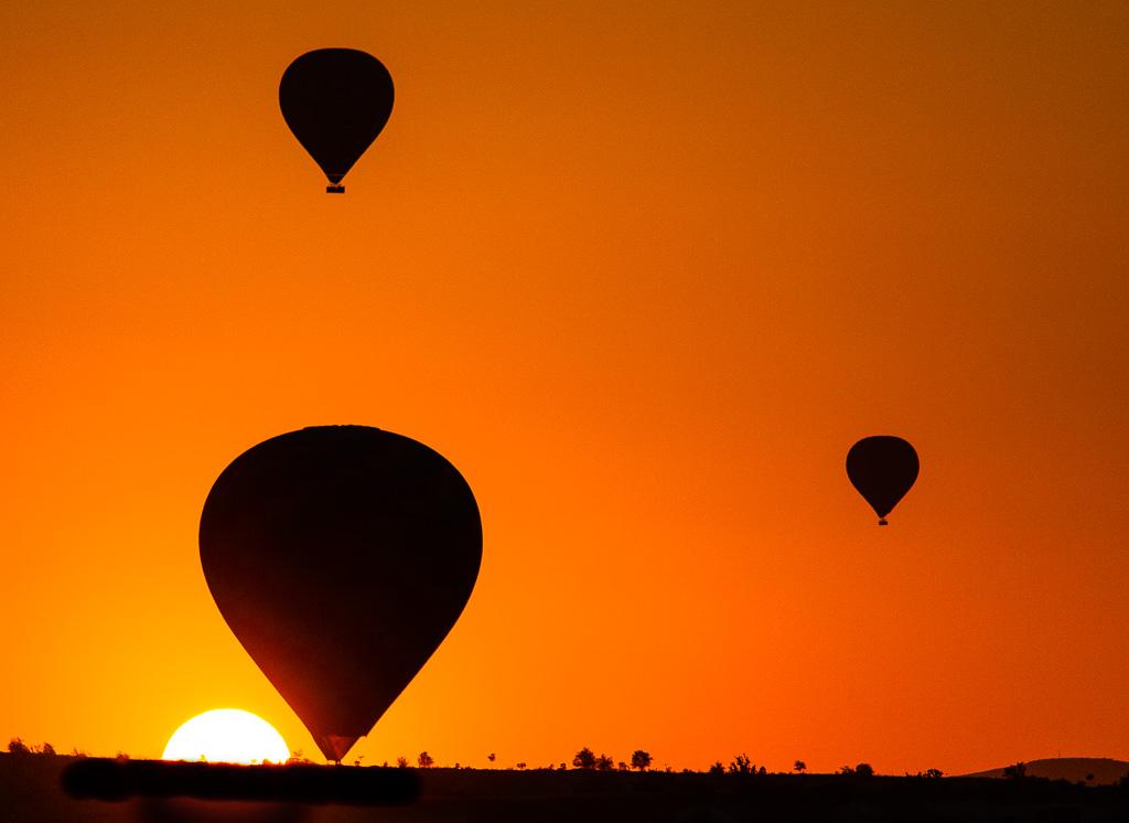 Cappadocia balloon sunrise