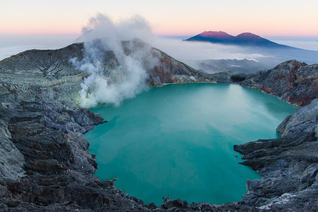 Kawah Ijen crater