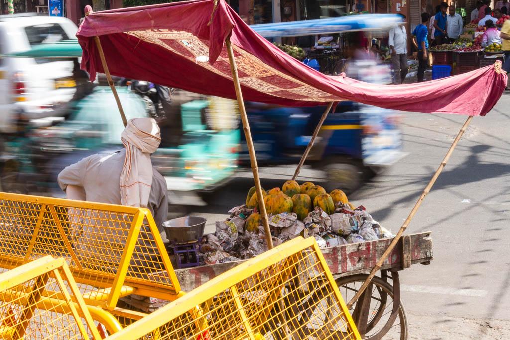 Melon seller in Jaipur