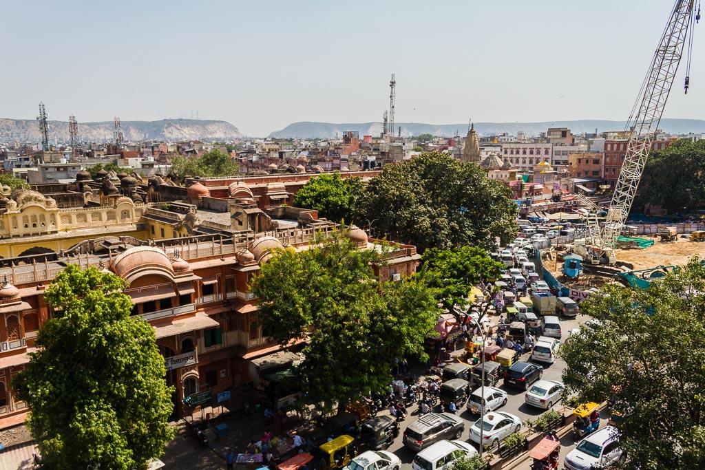 Traffic is bad in Jaipur