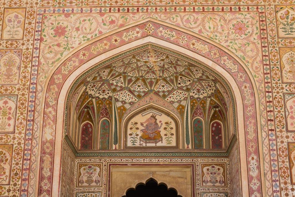 Mosaics at the Amber Palace