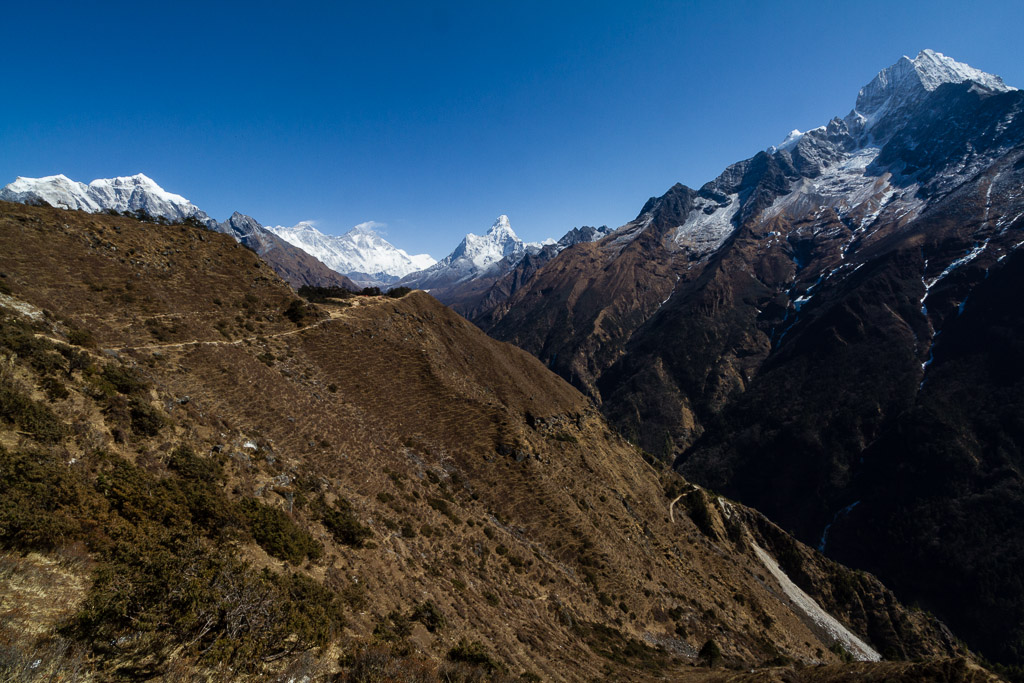 Everest Base Camp Trek path