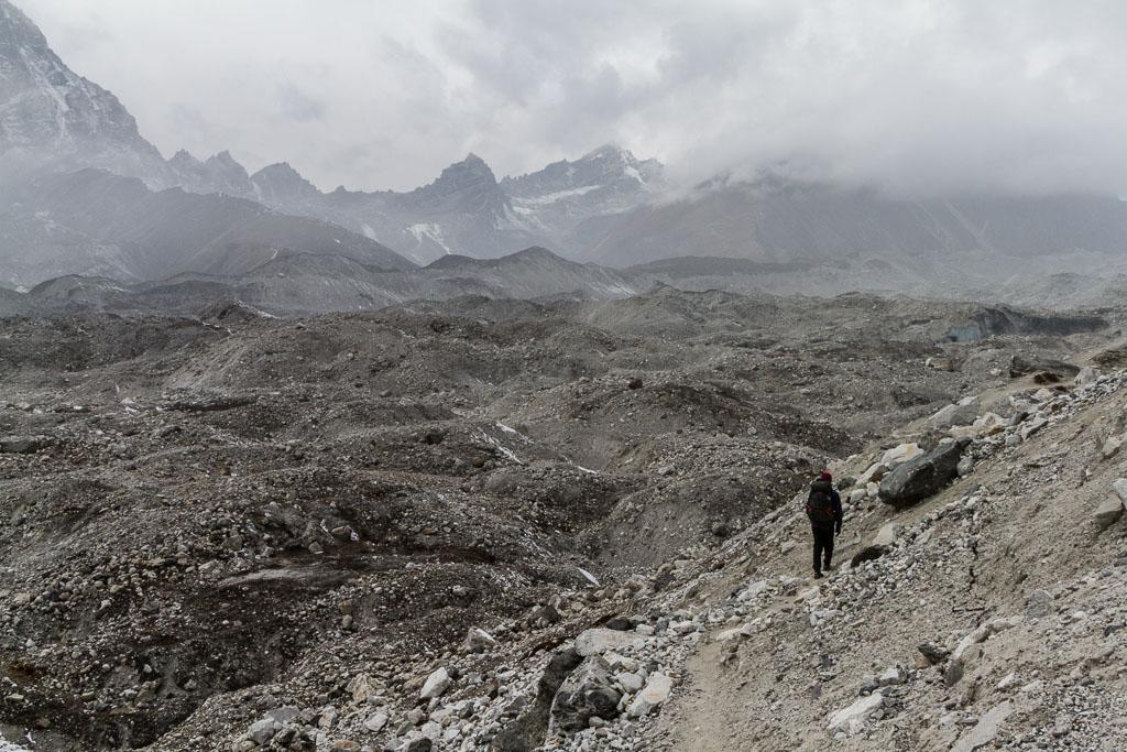 The Ngozumba Glacier