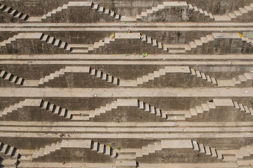 One of Bundi's incredible stepwells