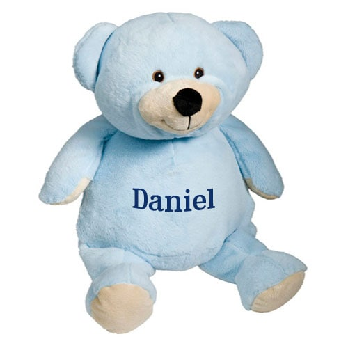 Personalized Stuffed Animal - Blue Bear