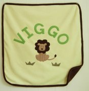 Personalized Fleece Blanket