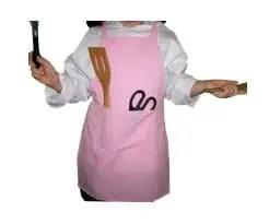 Pink Cooking Apron