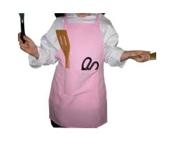 Pink Cooking Apron