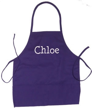 Purple Cooking Apron