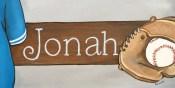 Baseball Door Plaque