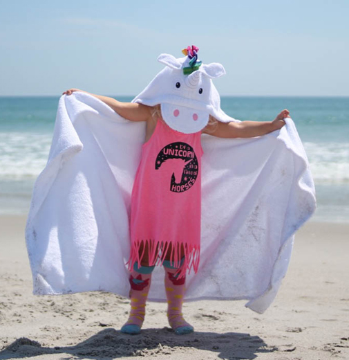Personalized Kids Towel - Unicorn
