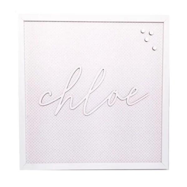 Personalized Magnet Board - Chloe