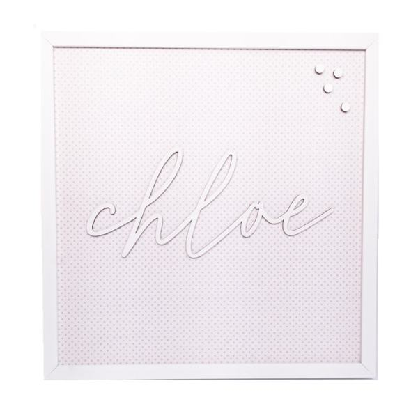 Personalized Magnet Board - Chloe