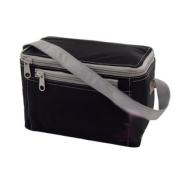 Black Grey Personalized Lunch Box