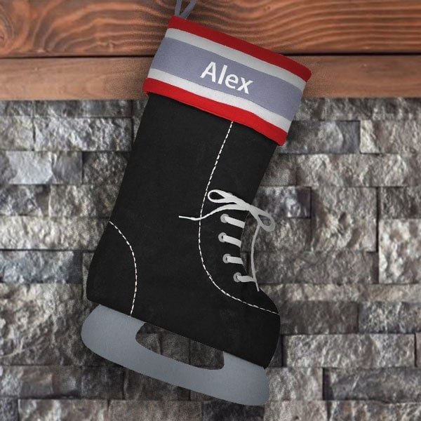 Personalized Stocking - Hockey Skate