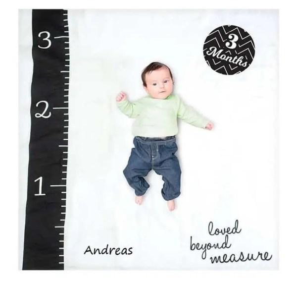 Milestone Blanket - Loved Beyond Measure