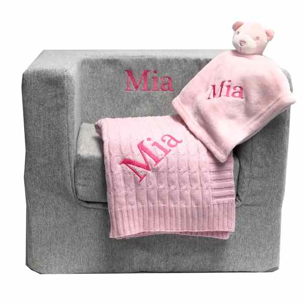 personalized baby gift set - girl