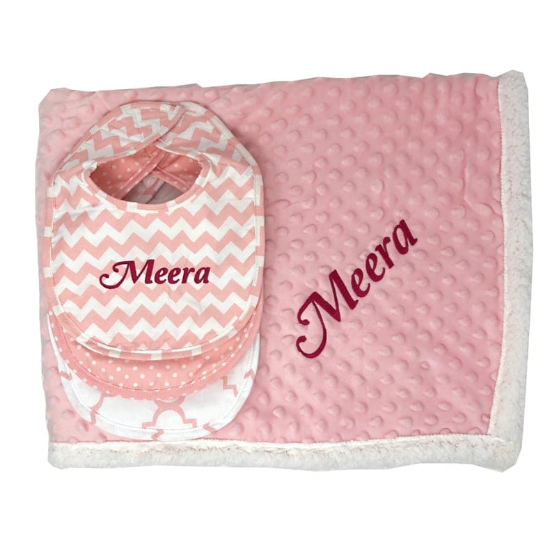 Pretty In Pink Gift Set You Name It Baby