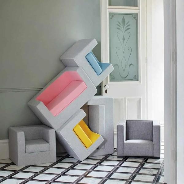 Pop of Colour Ash Cubino Chair