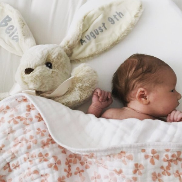 Personalized Stuffed Animal - Long Ear bunny