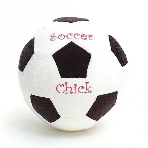 Personalized Plush Soccer Ball