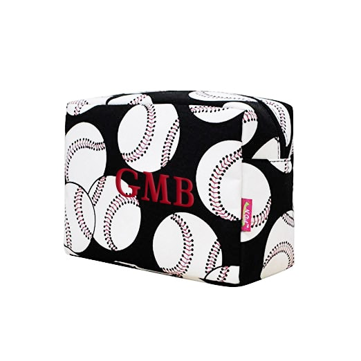 Personalized Baseball Travel Pouch