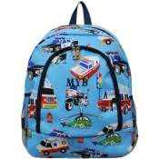 Personalized Firetruck Backpack