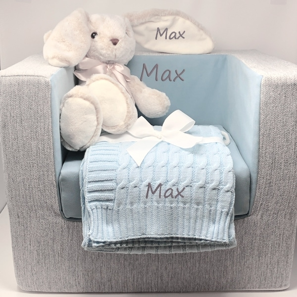Personalized Gift Basket - Boy