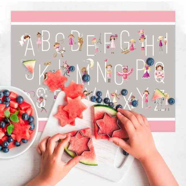 Personalized Placemat for Kids - G is For Girls