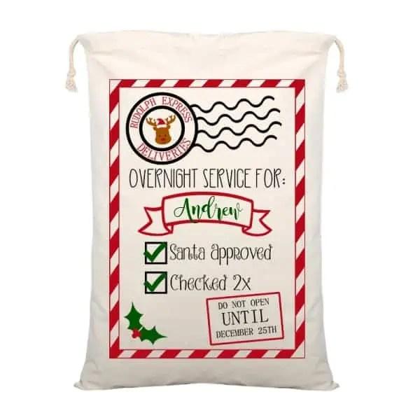 Personalized Santa Sack