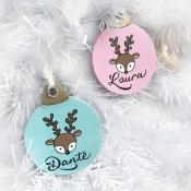 PERSONALIZED CHRISTMAS ORNAMENTS & STUFFED TOYS