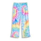 Pastel Tie Dye Fuzzy Pants