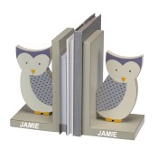 Personalized Kids Bookends - Owl