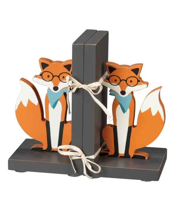 Kids Bookends - Fox