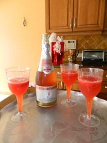 Strawberry Moscato Champagne